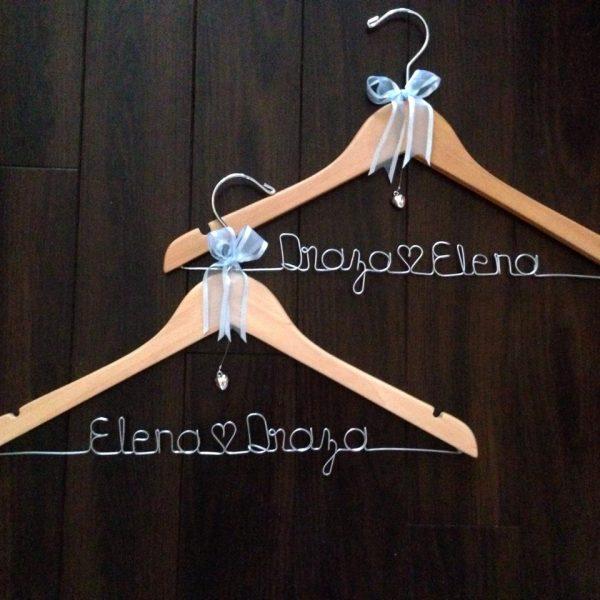 Name Hanger, bridal hangers, personalised coat hangers australia, wedding hangers, bridal hangers australia