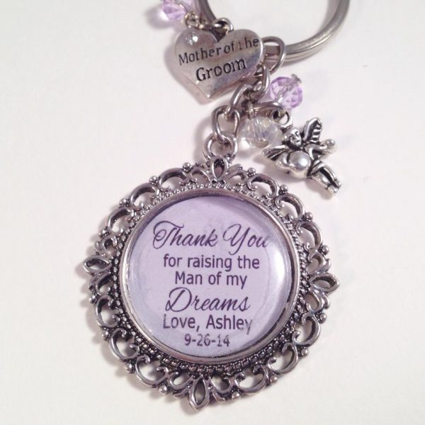 thank you gift for mothers, Bridal Gift ideas, wedding gift ideas, personalised key rings