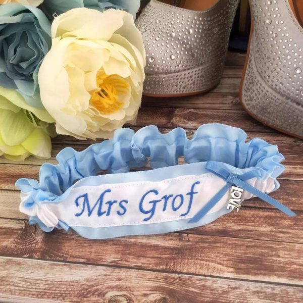 Mrs Garters, custom garters Australia, Garters for you, bridal garter, Personalised Wedding Garters, wedding-garters Australia