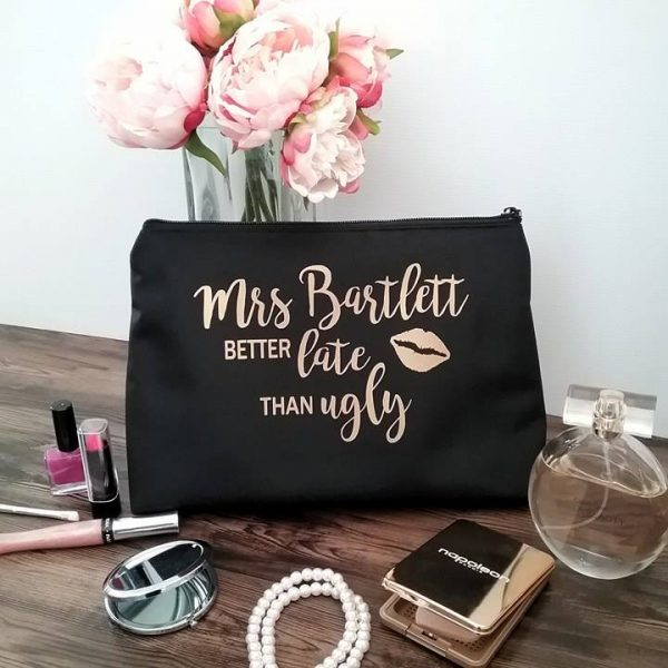 all things bridal, bride to be gifts australia, personalised bridesmaid gifts australia, customs bag