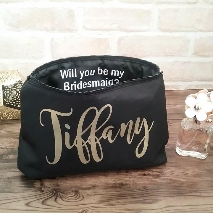 Can T Say I Do Without You Makeup Bag
