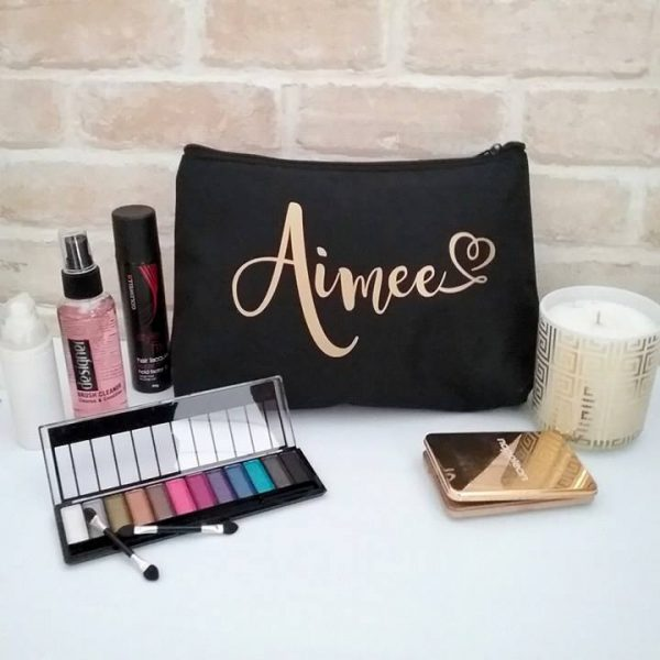 best Personalised makeup bags, cute makeup bags, large makeup bag, personalized makeup bags Australia