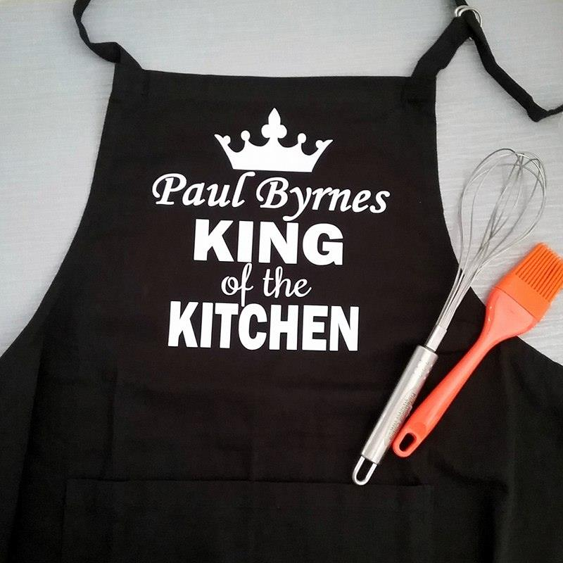 Personalised Apron| Wedding Anniversary Gift | Bridal Bling