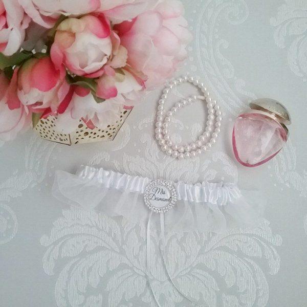garter for wedding, custom wedding garters, wedding leg garter,  personalised wedding garter Australia, unique wedding garters