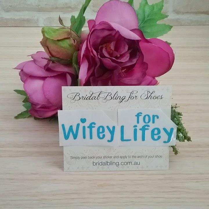 5093c1fc9fe Wifey for Lifey Shoe Sticker