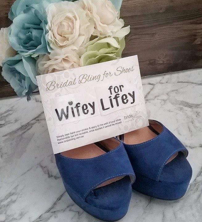 c9e0f0e3bf0 Wifey for Lifey Shoe Sticker.  11.00. or 4 ...