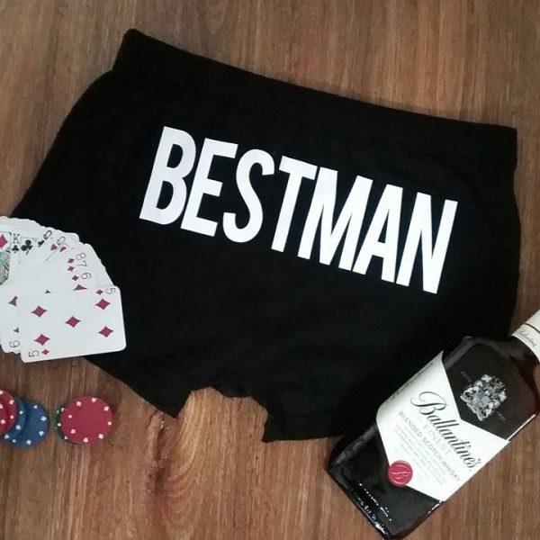 bestman Underwear, underwear for the best man, wedding undies for the guys