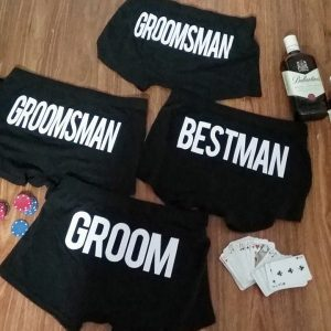 personalised underwear australia, Best man underwear, Underwear for Groomsmen by Bridal Bling Australia