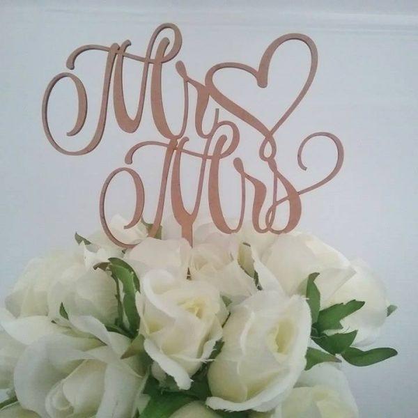 mr and Mrs Cake topper, basic cake topper for wedding, wedding cake toppers