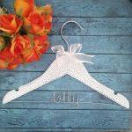 rhinestone bling hanger, childrens hanger, hangers with names, custom children hangers, elegant childrens hanger