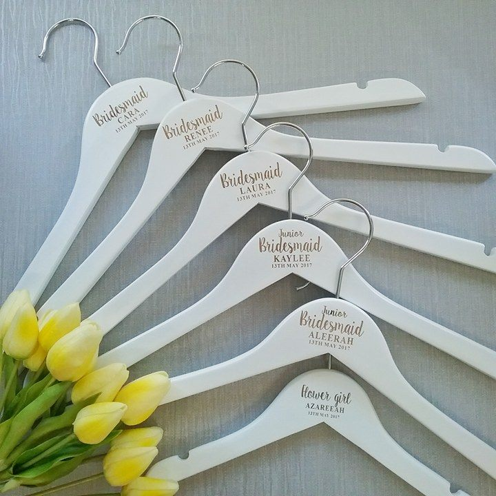 f03b4a7336 Personalised Engraved Wedding Hangers