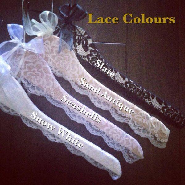 lace coat hanger, lace wedding coat hangers, lace bridal coat hangers