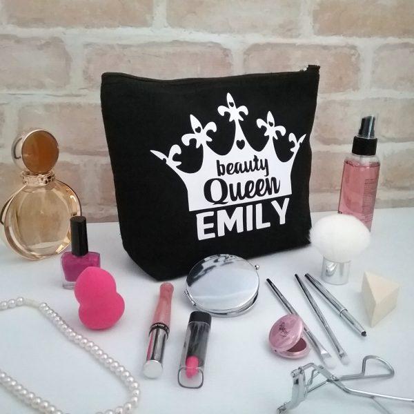 personalised make up bag, makeup present, gift for girls, gift christmas gift for girls