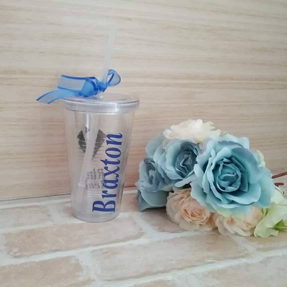 Personalised gift for boy, wedding gift for boys, custom cup with straw, custom wedding tumblers, wedding cups for bridal party