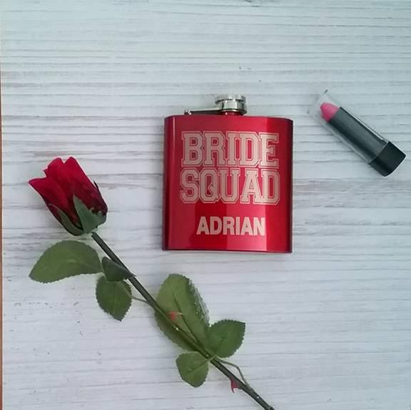 bride squad, bride squad gifts, all things bridal, bridesmaid gifts