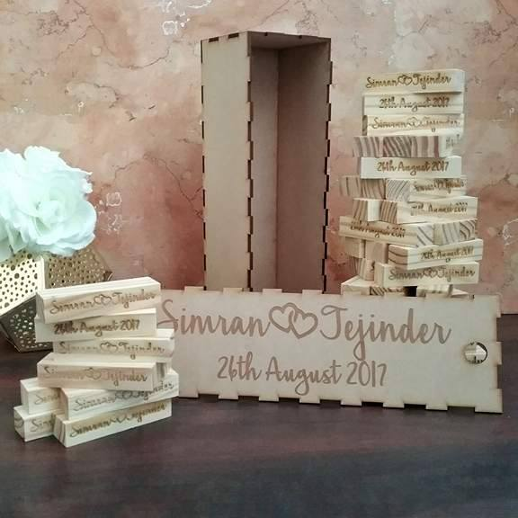 wedding guest book alternative, wooden signing blocks, jenga blocks, wedding blocks, wedding block tower