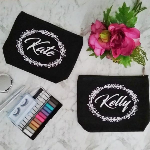 present for sister, mothers day gift, makeup bag personalised, mother of the groom gifts