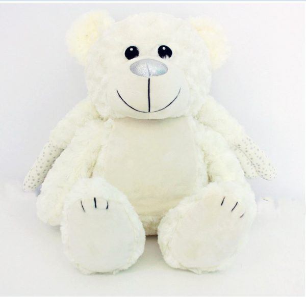 Large Angel Bear, personalised Angel Bear, embroidered angel Bear Australia