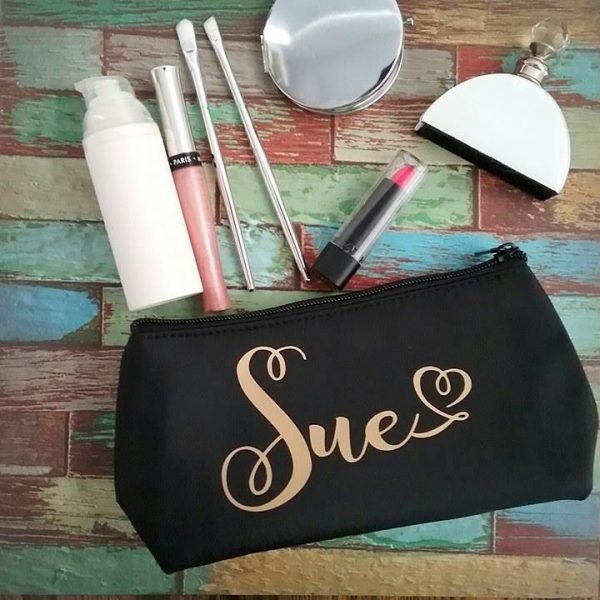makeup purse, bridesmaid gift australia, all things bridal, wedding gifts