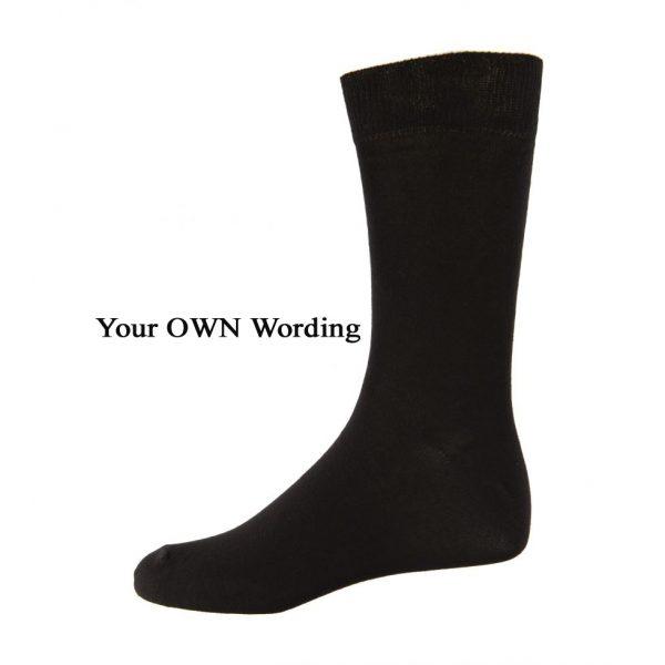 Own Wording Socks, customised socks australia, personalised name socks, Custom socks Australia