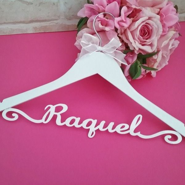 bridesmaid gift, bridesmaid coat hanger, wedding coat hanger, christening gift, personalised gift idea,
