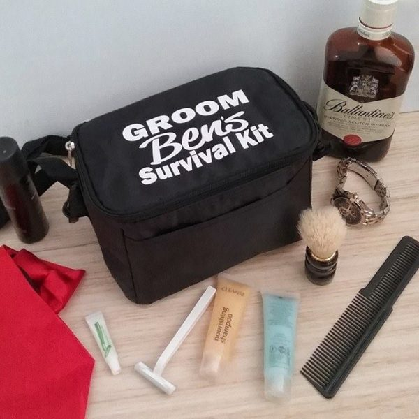 groom wedding day survival kit, groom gift ideas, groomsman gift ideas, Personalised wedding Gifts Australia