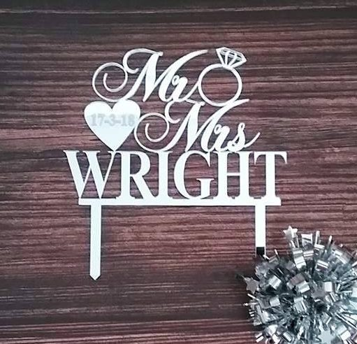 cake topper wedding, wedding cakes toppers, personalised cake topper, mr and mrs wedding cake toppers, gold wedding cake toppers