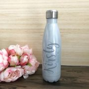 personalised drink bottles, stainless steel drink bottle personalised, wedding drink bottle, personalised water bottle for wedding