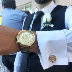 groomsmen cufflinks, gift for groomsmen, wooden cufflinks, wedding cufflinks