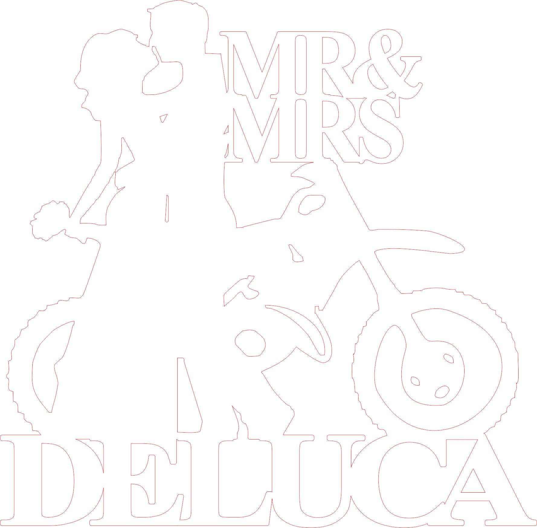 Customised Motorbike Wedding Cake Topper | Bridal Bling