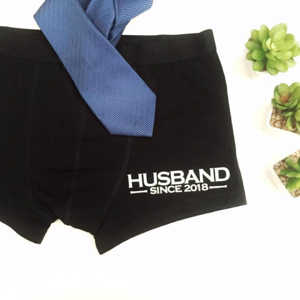 funny Underwera for Groom, Wedding Anniversary Gift for Men, Husband anniversary gift, personalised underwear Australia