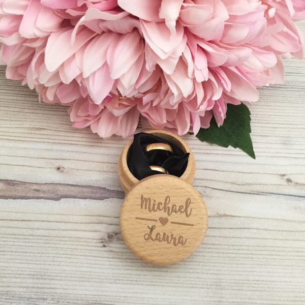 rustic wedding rings, wedding ring box for rustic wedding personalised ring boxes,