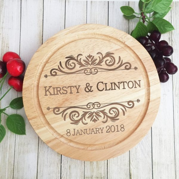 Engraved cheese boards, personalised gifts Australia, wedding gifts, cheese board and knife set Australia