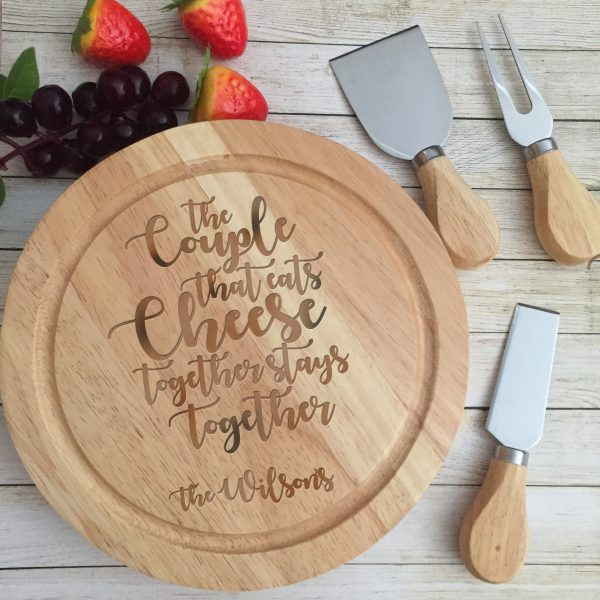 personalised cheese cutting board, personalised wooden chopping boards, personalised cheese board Australia