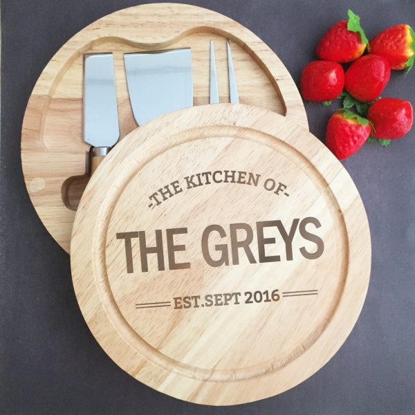 personalised wooden chopping board, Wooden Cheese boards, gift for wedding,