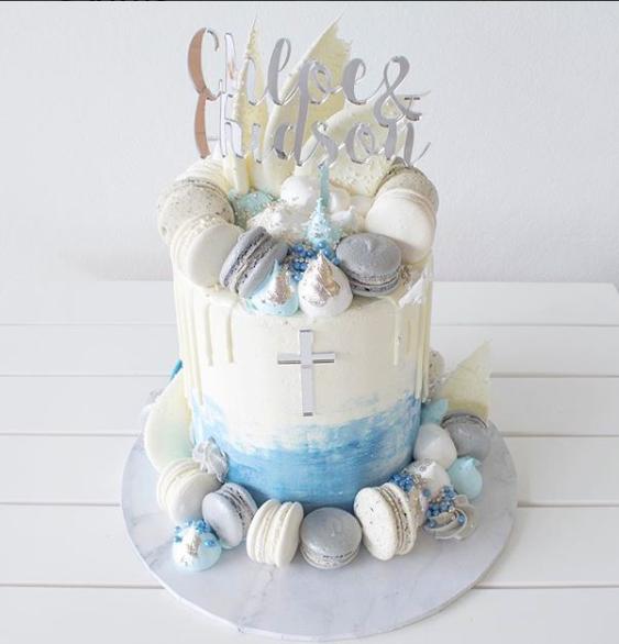Personalised cake topper, baptism cake topper, custom Christening cake topper