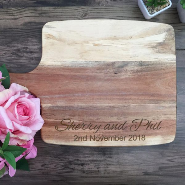 Custom Cutting Board, Engraved Cutting board, Wedding Gift, Anniversary Gift, Housewarming Gift,