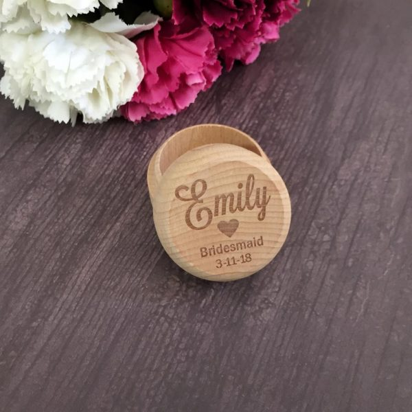 Bridesmaid gift, Will you by my Bridesmaid Box, Personalised Bridesmaid Box, Personalised Jewellery Box
