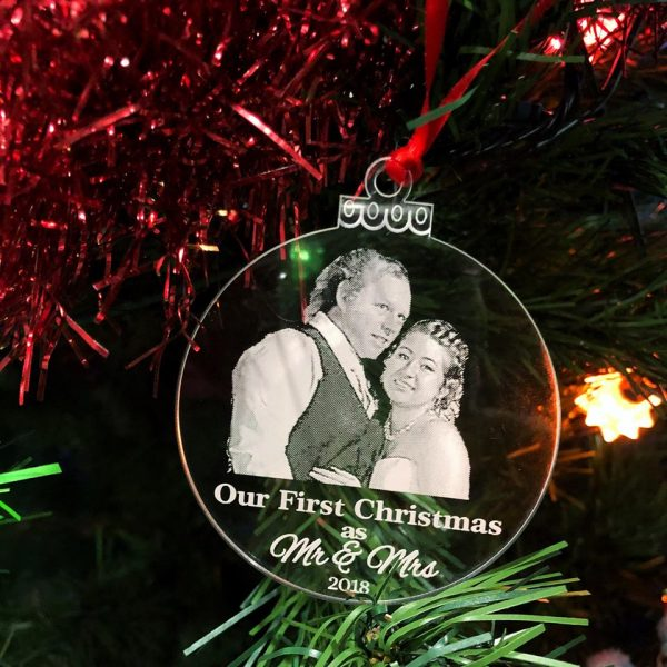 Our First Christmas Gift, Christmas Gift for Newlyweds, Mr & Mrs Christmas gift