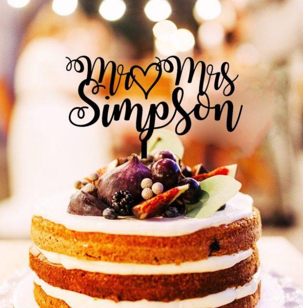 Personalised Cake Topper Australia, New Zealand Wedding Cake Toppers, Personalised Toppers Australia