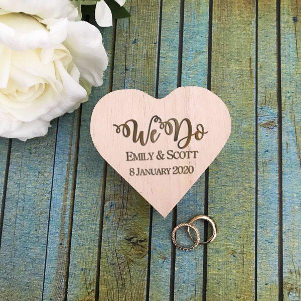 , Personalised Wedding Keepsake Australia
