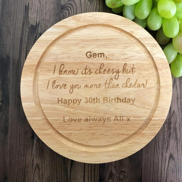 Birthday Present Idea for Her, Custom Chopping board set, Best Birthday Present for her
