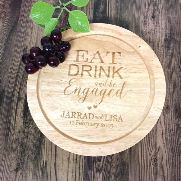 Engagement Gift Cheese Board, Personalised Engagement Present, Gift for Engagement Couple, Couple Cheese Board, Wedding Gift Australia