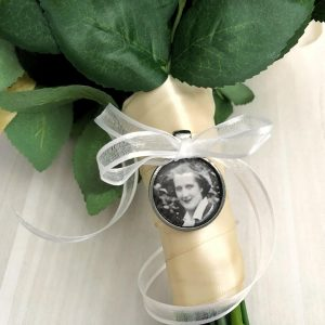 bouquet photo charm Australia, Photo Memory charm, Groom Memorial Charm, mini frames for Bridal Bouquet