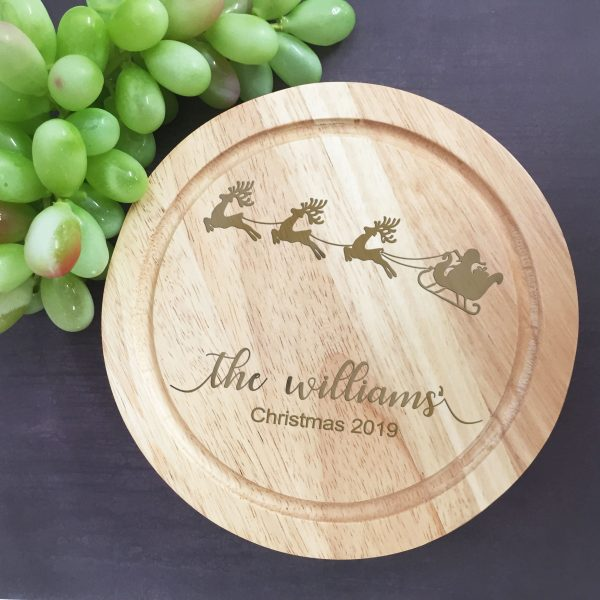 personalised christmas cheese board, Christmas Gift Idea