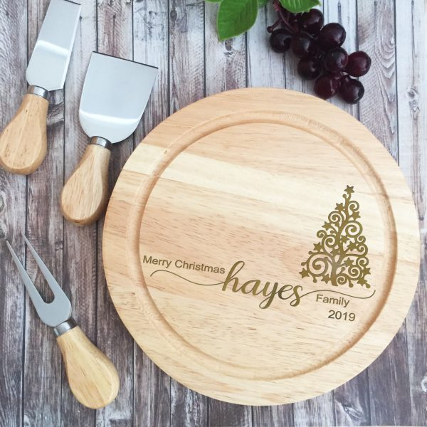 Cutting Board Personalised, Christmas Gift cutting board, Bridal Bling Australia
