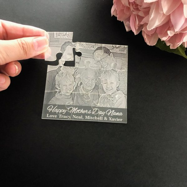 personalised photo puzzle, mothers day gift idea, thinking of you gift, Missing you gift,