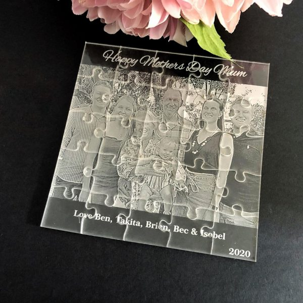 First Mothers Day Gift Idea, personalised photo puzzle australia, personalised puzzles afterpay