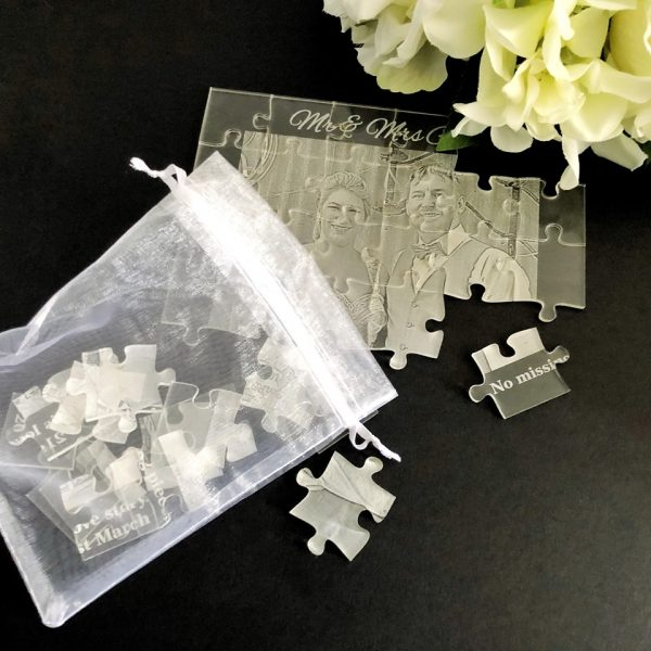 Unusual wedding gift Idea, Wedding Gift for hard to buy for couple, wedding jigsaw puzzle gift idea