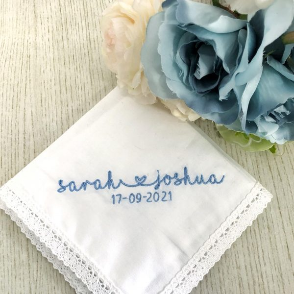 Stylish Wedding handkerchief for the Bride